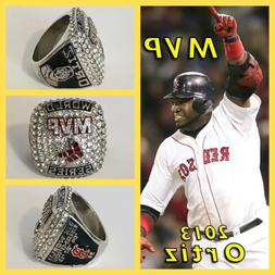 Boston Red Sox David Ortiz 2013 MVP Ring Size 11
