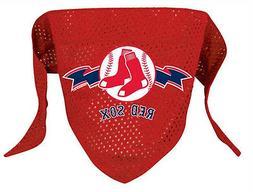 Boston Red Sox Dog Bandana Small Pet Scarf