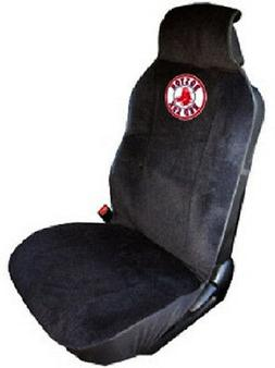 Boston Red Sox Embroidered Seat Cover   Car Auto MLB Black T