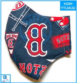 Boston Red Sox Face Mask Cotton **HIGH QUALITY** **SHIPS FAS