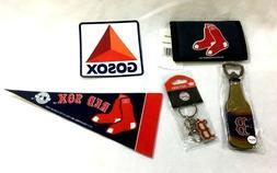 Boston Red Sox Fan Pack Bottle Opener Magnet Wallet Keychain