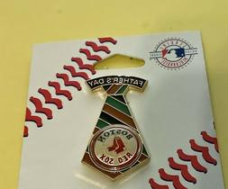 BOSTON RED SOX FATHER'S DAY TIE WITH LOGO VINTAGE COLLECTOR