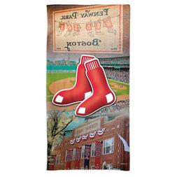"BOSTON RED SOX FENWAY PARK 30""X60"" SPECTRA BEACH TOWEL NEW W"