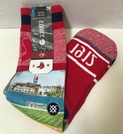 Stance Boston Red Sox Fenway Red Knee High Socks Mens L/XL 9