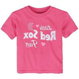 Boston Red Sox Girls Toddler Fan T-Shirt - Pink