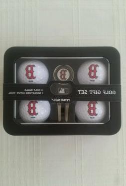 Boston Red Sox Golf Ball / Divot Tool with Ball Marker MLB G
