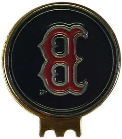 BOSTON RED SOX GOLF BALL MARKER ON HAT CLIP GREAT GIFT IDEA