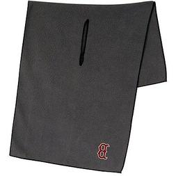 boston red sox gray microfiber waffle golf
