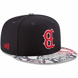 Boston Red Sox Hat Visor Craze 9FIFTY Adjustable New Era Sna
