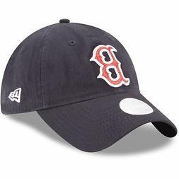 Boston Red Sox Hat New Era Women's Team Glisten  Adjustable