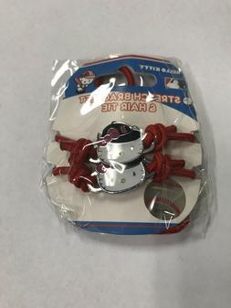 Boston Red Sox Hello Kitty Red Hair Tie / Bracelet
