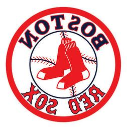 Boston Red Sox Logo Baseball Car Bumper Window Wall Decal Vi
