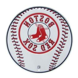Boston Red Sox Logo Baseball Tin Sign Game Room Man Fan Cave