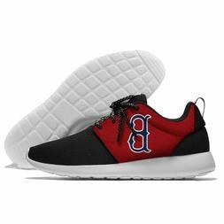 BOSTON RED SOX Logo Men's Women's Lightweight Shoes Sneakers