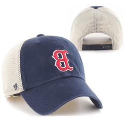 Boston Red Sox 47 Brand Men's Adjustable Mesh-Back Snap-Back