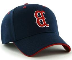 Boston Red Sox MLB Men's Adult Navy Adjustable Team Logo Hat