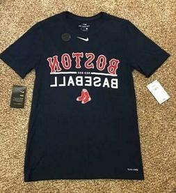 Nike Boston Red Sox Men's Dri-Fit Athletic Cut MLB Practice