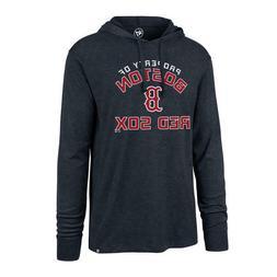 Boston Red Sox 47 Brand Men's Long Sleeve Hooded Shirt