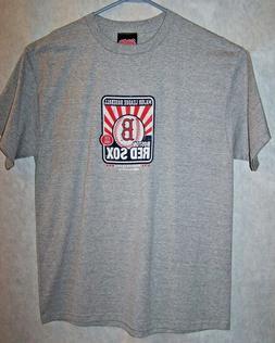 Boston Red Sox Men's T shirt Grey Short Sleeves Authenic Sti