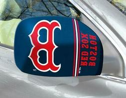 Boston Red Sox Mirror Cover 2 Pack - Small Size  MLB Car Aut