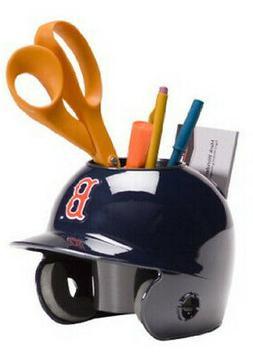 Boston Red Sox MLB Baseball Schutt Mini Batting Helmet Desk