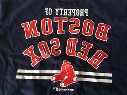 Boston Red Sox MLB Boys Property of Short Sleeve T-Shirt You