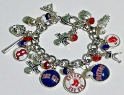 boston red sox mlb chain link baseball