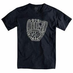 Boston Red Sox 47 Brand MLB Glove V-Neck T-Shirt Men's Large