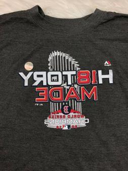 Boston Red Sox Majestic MLB Men's SS World Series Champ Lock