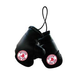 Boston Red Sox MLB Mini Boxing Gloves Rearview Mirror Auto C