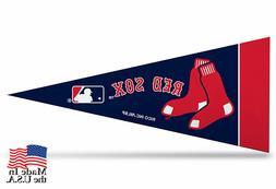 "Boston Red Sox MLB Mini Pennant 9""x4"", New, Felt Made in USA"