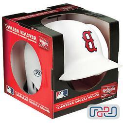 Boston Red Sox Matte White Rawlings Mini MLB Baseball Battin
