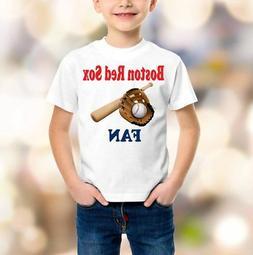 Boston Red Sox MLB t-shirt baseball shirt children clothing