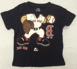 Boston Red Sox MLB Toddler Pint Sized Pitcher T-Shirt Size 1