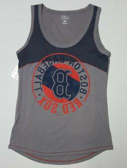 Boston Red Sox MLB Women's  Sleeveless Team Tank Top T-Shirt