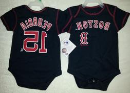 BOSTON RED SOX PEDROIA TODDLER ONE PIECE SHIRT NEW PICK SIZE