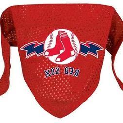 Boston Red Sox Pet Dog Bandana Small