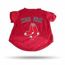 Boston Red Sox Sparo Pet T-Shirt - Red