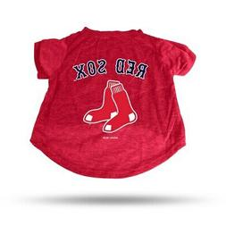 boston red sox pet t shirt red