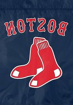 Boston Red Sox Premium Garden Flag Applique Embroidered Outd