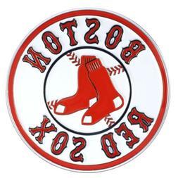 boston red sox premium solid metal color