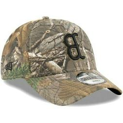 Boston Red Sox New Era Realtree 49FORTY Fitted Hat - Camo