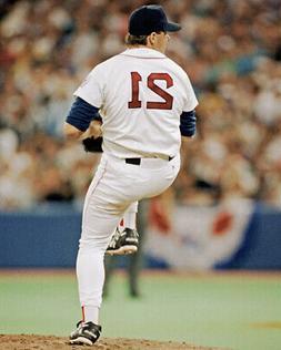 Boston Red Sox ROGER CLEMENS Glossy 8x10 Photo Baseball Prin