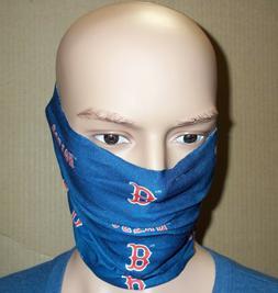 Boston Red Sox Scarf Bandana Hair Tie Pony Tail Fan Stretch