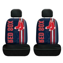 Boston Red Sox Set of 2 Rally Print Seat Covers