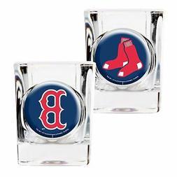 Boston Red Sox Shot Glass Gift Set 2-Pack MLB