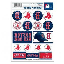 Boston Red Sox 5 x 7 Sticker Sheet Free Shipping
