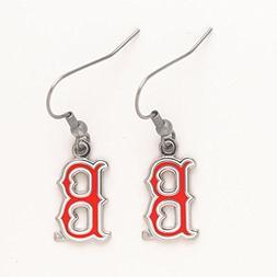 Boston Red Sox Women's Team Logo Dangle Style Earrings