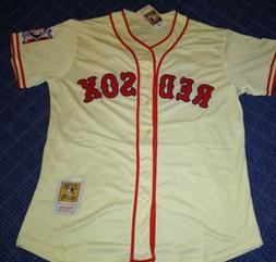 Boston Red Sox Ted Williams Cooperstown Collection Jersey Si