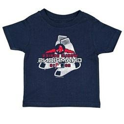 Boston Red Sox Soft as a Grape Toddler 2018 World Series Cha